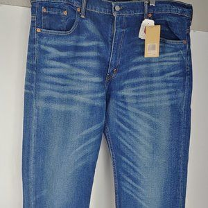 New! Levi's 569 Loose Straight Leg Jeans 38x32